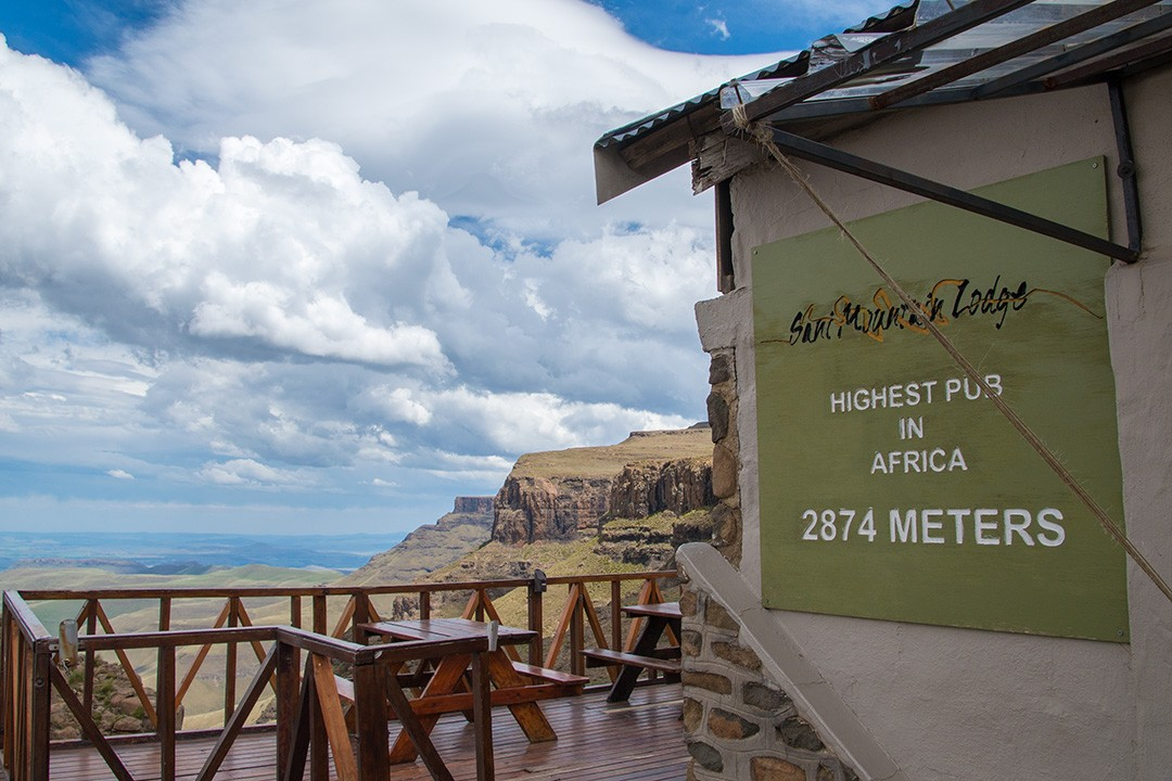 interesting facts about Lesotho highest pub