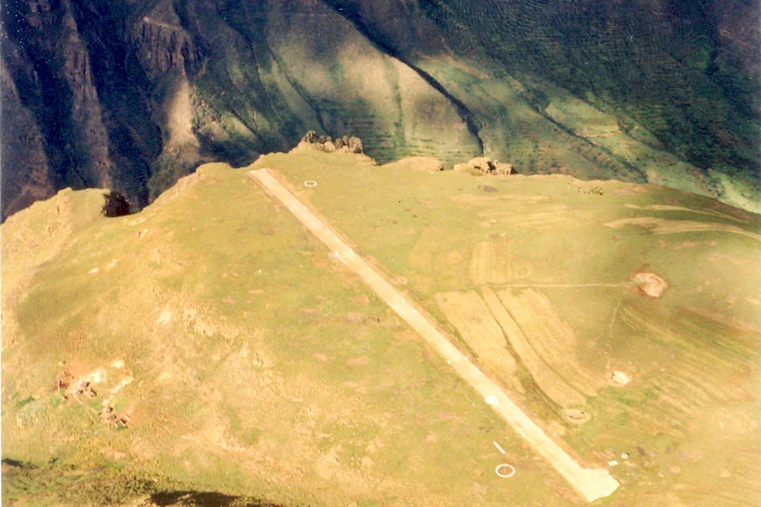 interesting facts about Lesotho runway