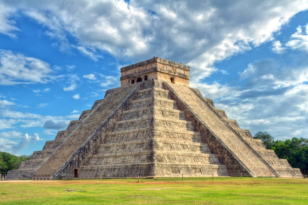 Chichen Itza, one of the Seven Wonders of the World