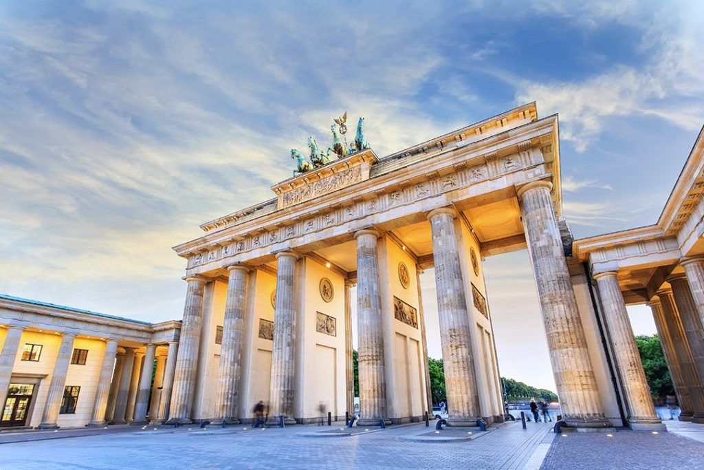 Brandenburger Gate in Berlin, Germany