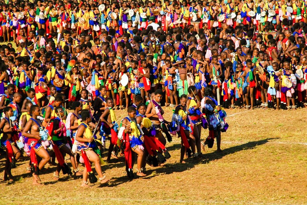 Interesting facts about Eswatini Swaziland feastival
