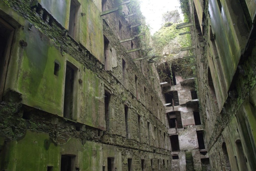 Bodmin jail is an evocative sight in Cornwall