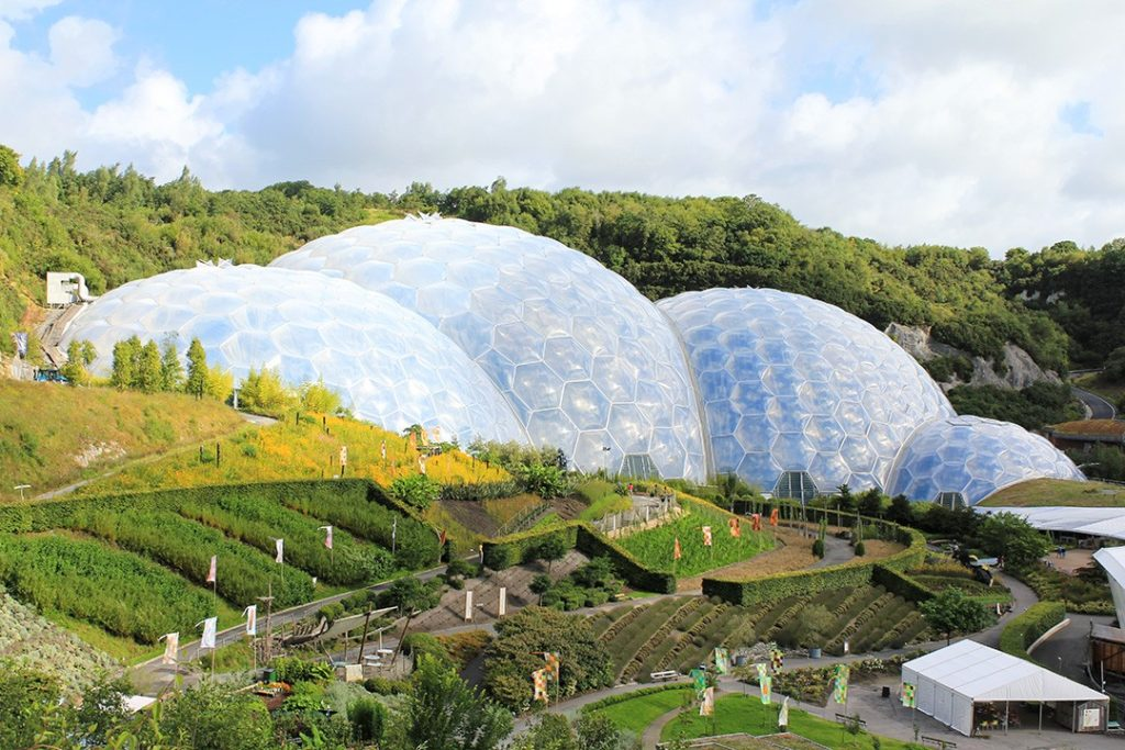 Cornwall has the world's largest greenhouse