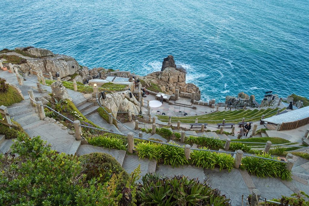 Minack Theatre is one of the best sights in Cornwall