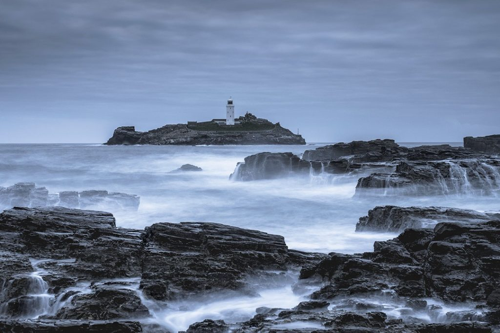 The wild storms of winter are especially dramatic in Cornwall