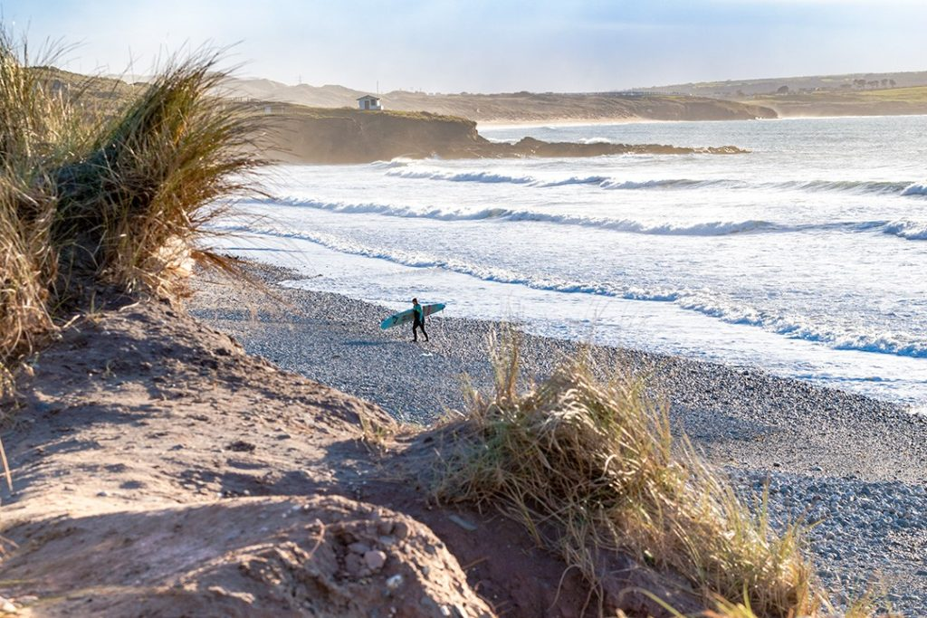Cornwall is excellent for winter surfing