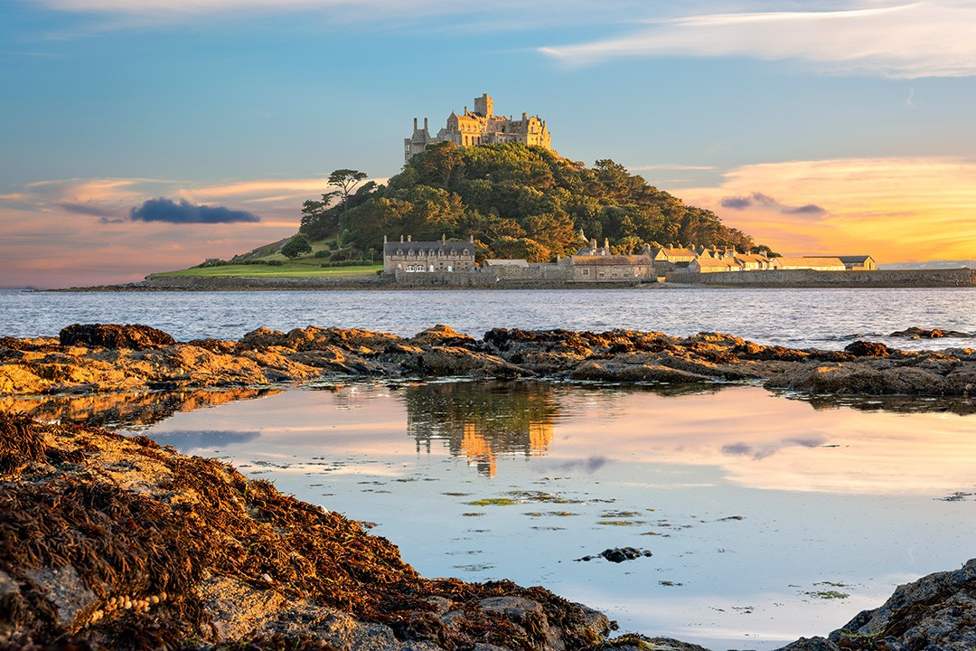 St Michael's Mount is one of the most famous sights in Cornwall