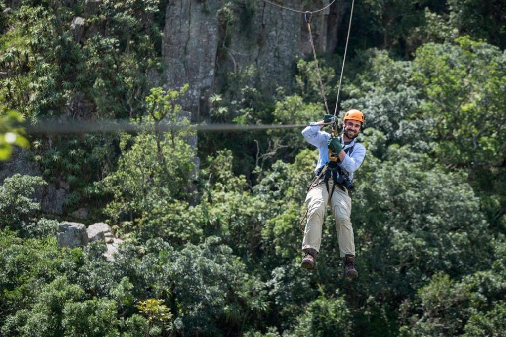 The treetop canopy tour is just one of the many great things to do in Eswatini