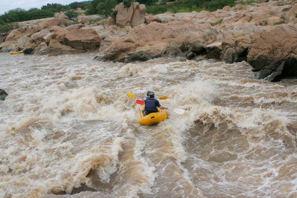 White water rafting is one of the most exciting things to do in Eswatini