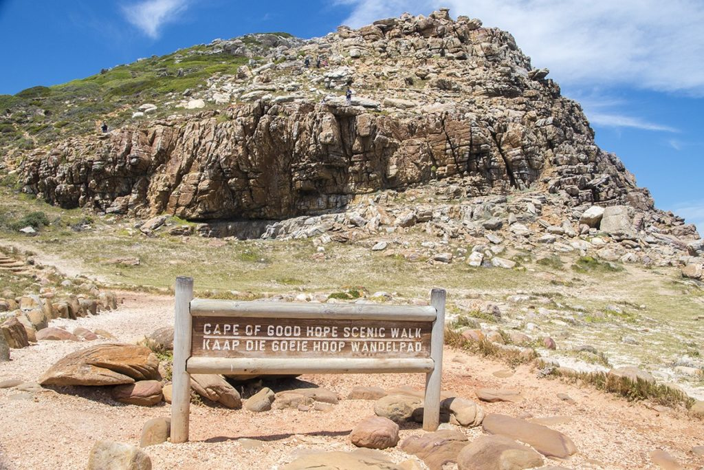 Cape of Good Hope is 2.3km away from Cape Point