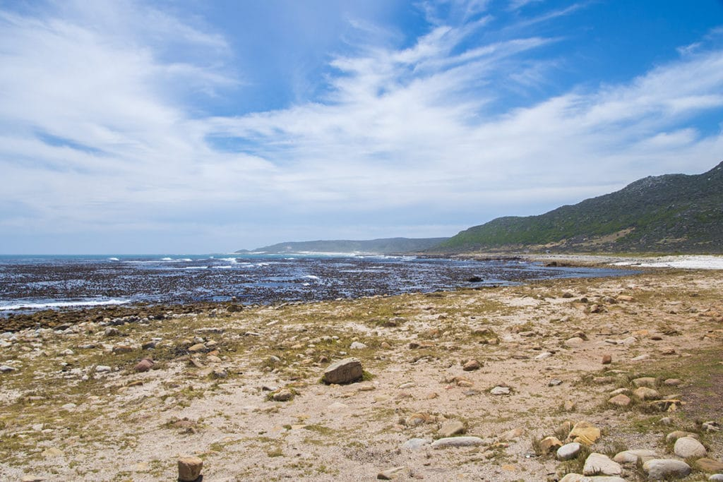 A beach near Cape Point