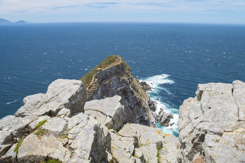 Looking down on Cape Point
