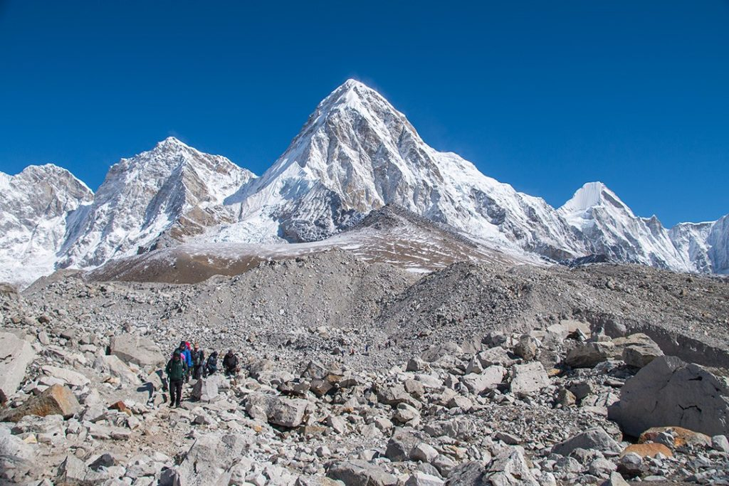 The Everest base camp trek was spectacular