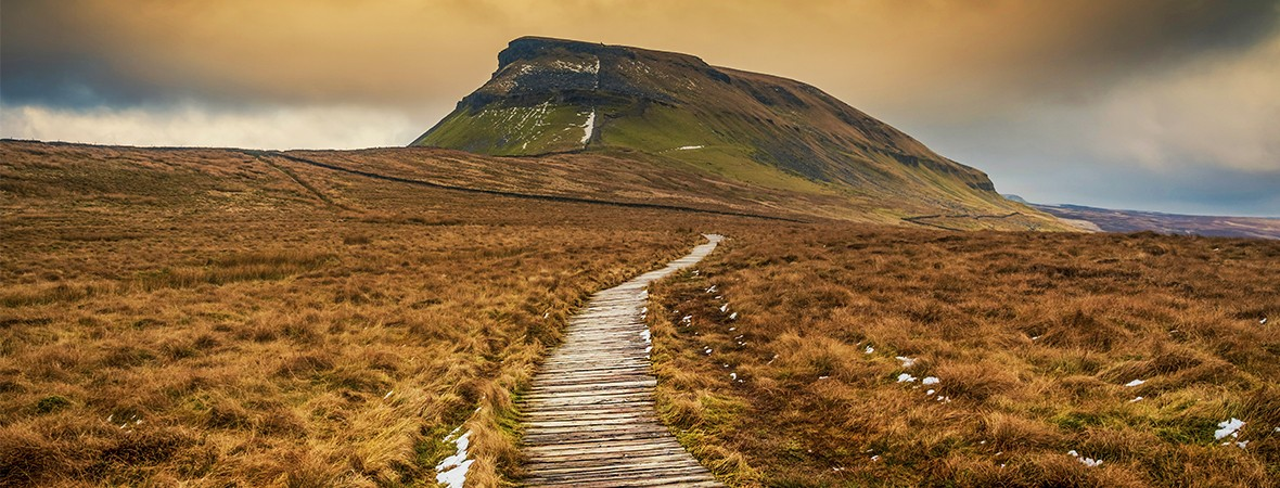 Highest mountains in the Yorkshire Dales lead image