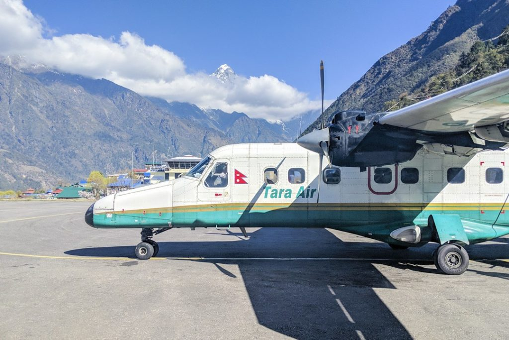 Lukla airport tips for trekking to Everest base camp