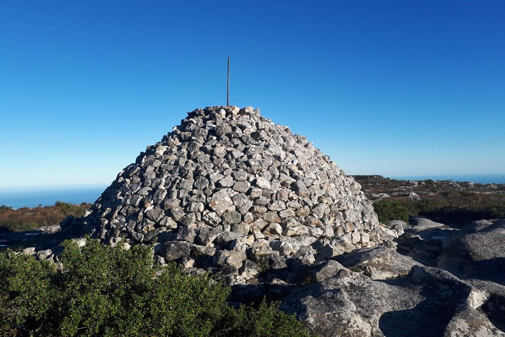 Maclear's Beacon is the true summit of Table Mountain