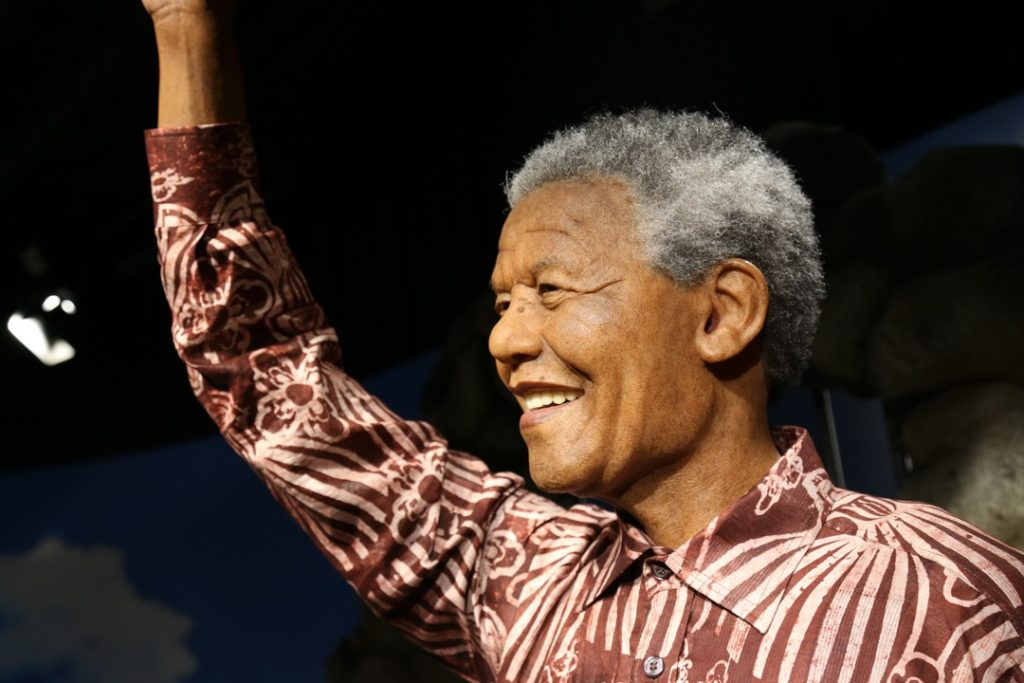 Anti-apartheid revolutionary Nelson Mandela was imprisoned for 27 years