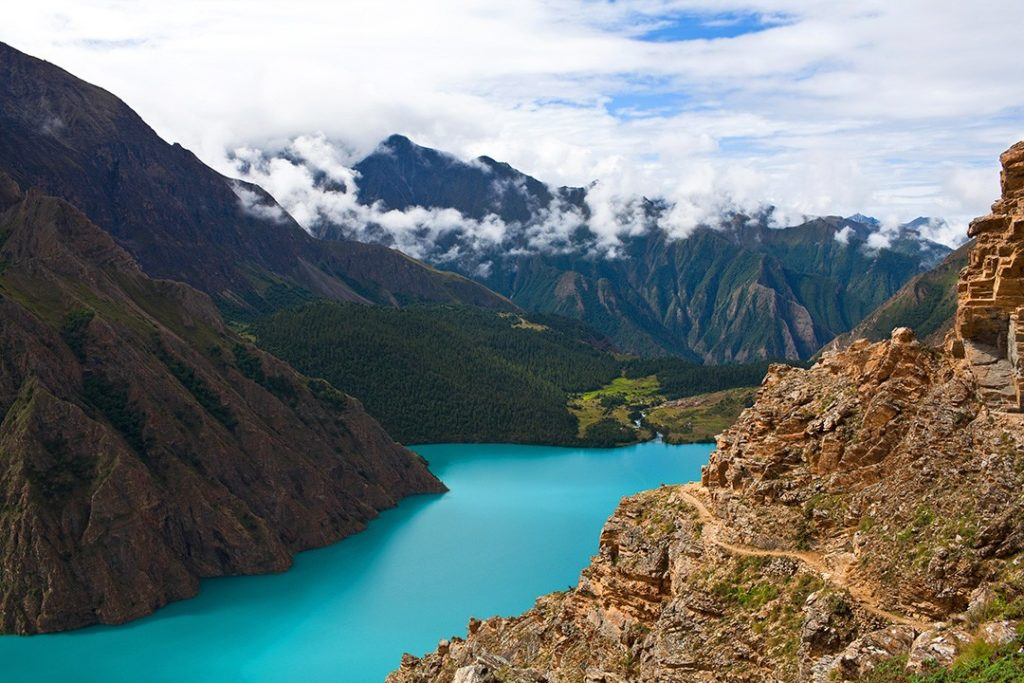 Best treks in Nepal Phoksundo Lake