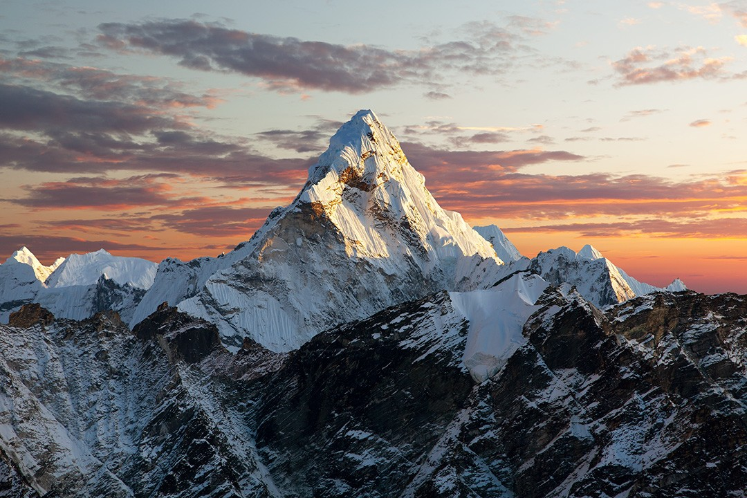 Ama Dablam is a thing of beauty