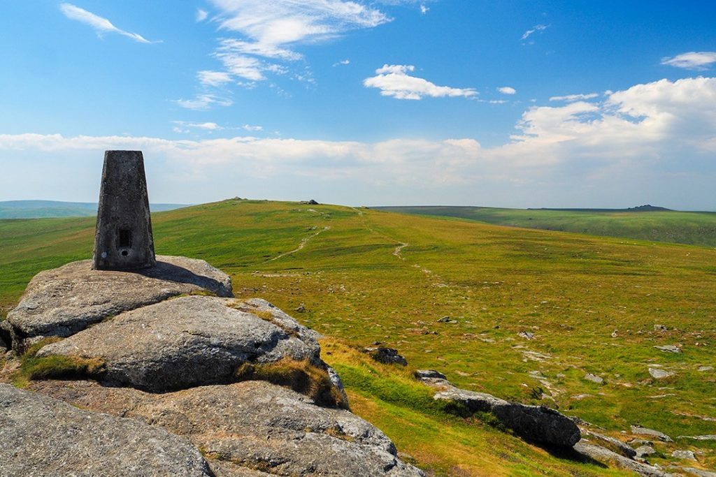 High Willhays is the highest point in Dartmoor