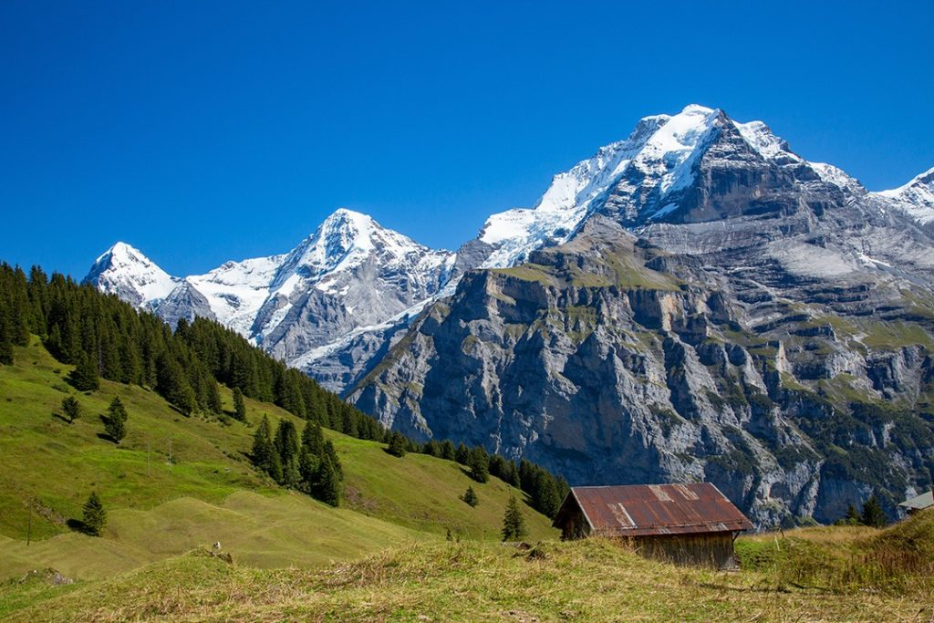 The Eiger is home to Mordwand (the 'Murder Wall')