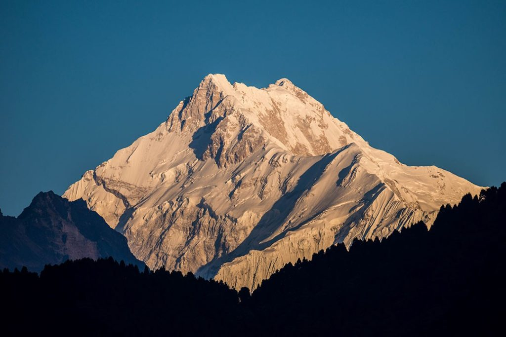 Kanchenjunga is the easternmost of the eight-thousanders