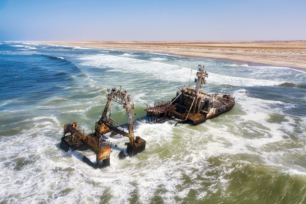 The wild and dramatic Skeleton Coast is one of the best road trips in the world