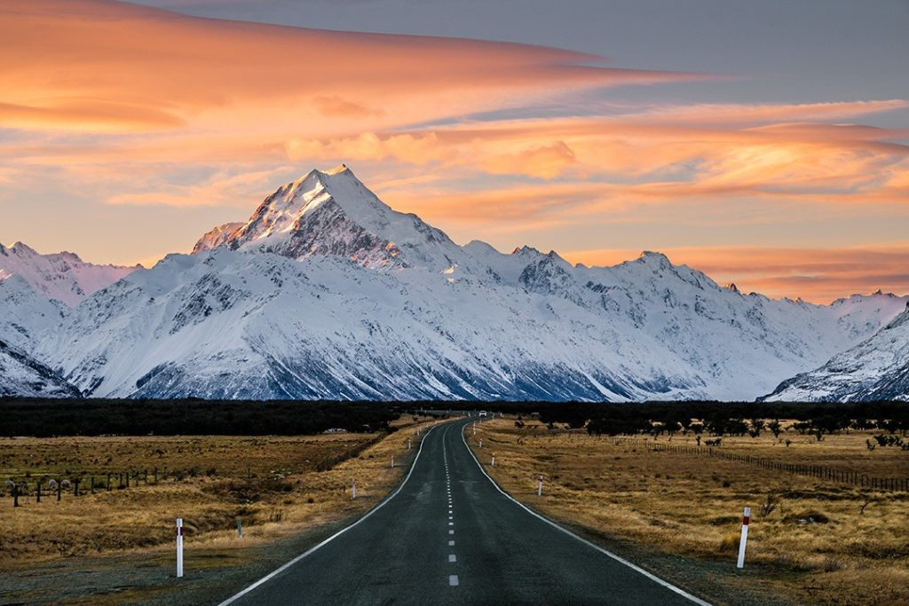 Dramatic scenes on the South Island Circuit which is one of one of the best road trips in the world