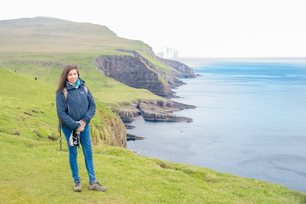 kia on mykines, faroe islands