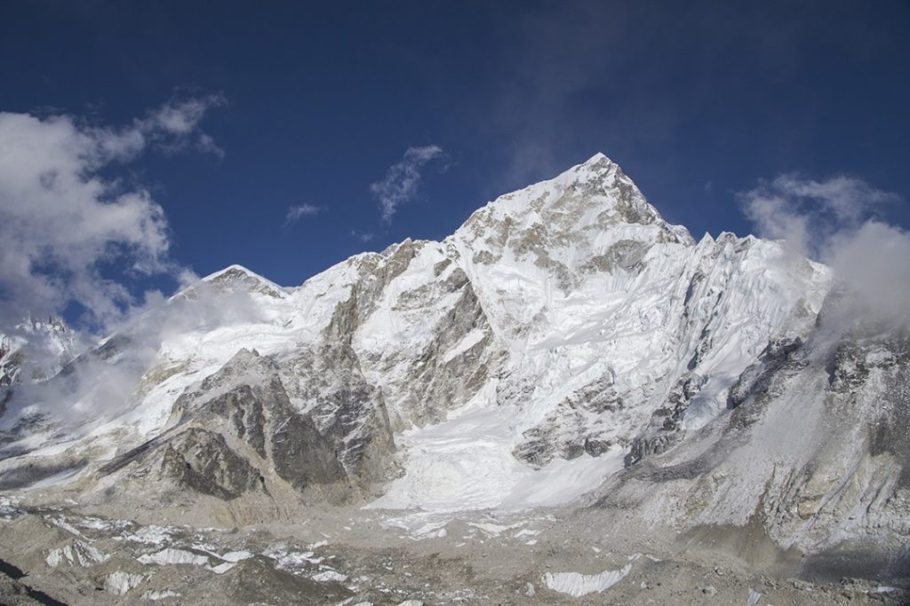 interesting facts about mount everest Nuptse-west-face