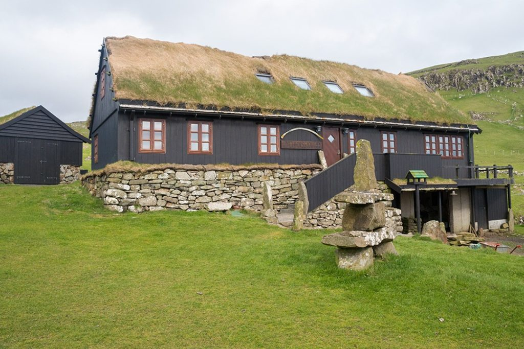 a house in mykines, faroe islands