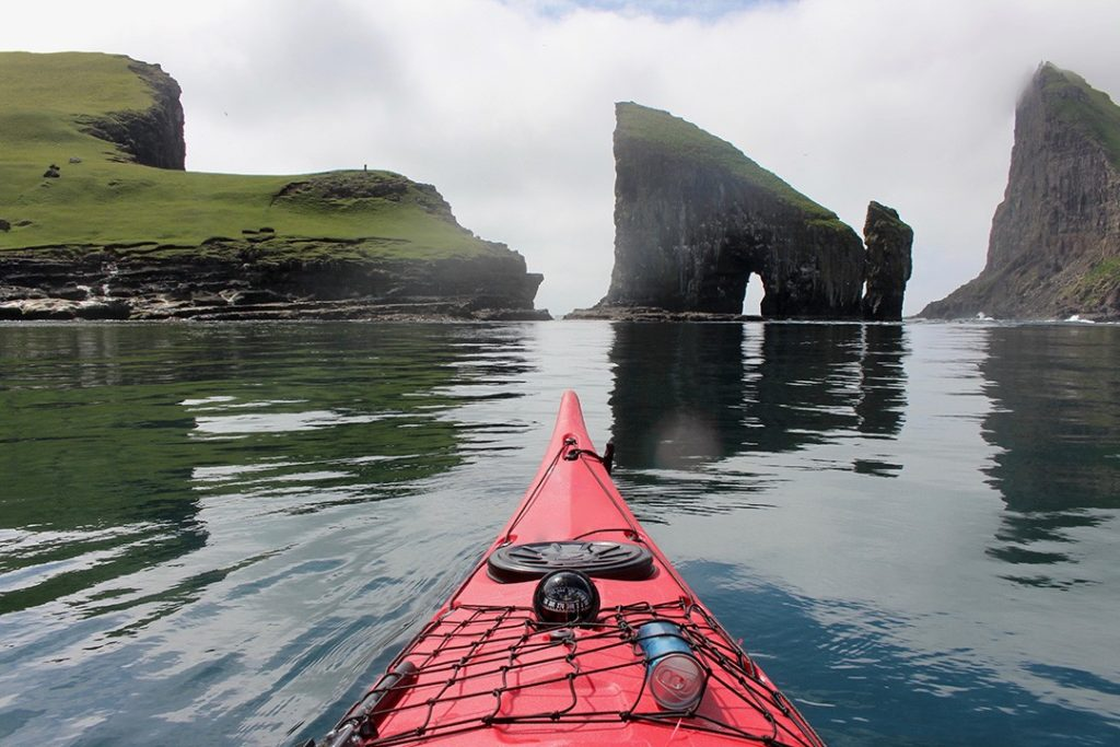 things to do in the Faroe Islands kayaking