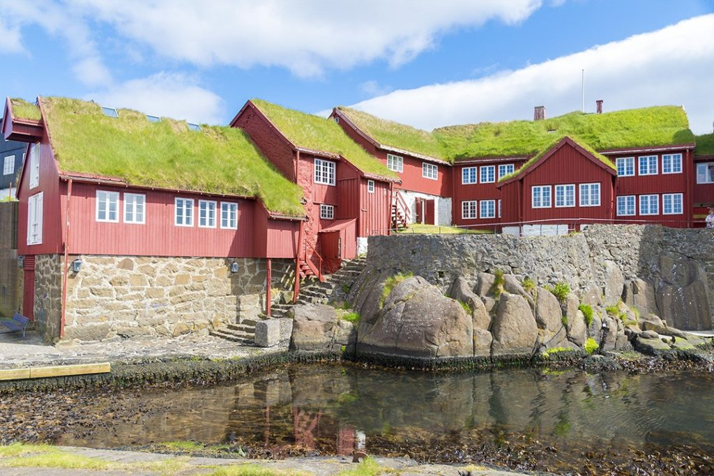 Tinganes is one of the most interesting facts about the Faroe Islands