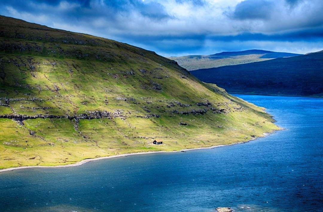 Hiking Sorvagsvatn Lake Faroe Islands Atlas Boots