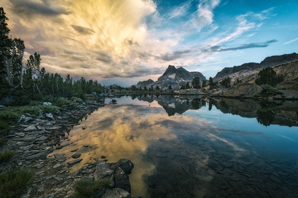 the Sierra Nevada mountains
