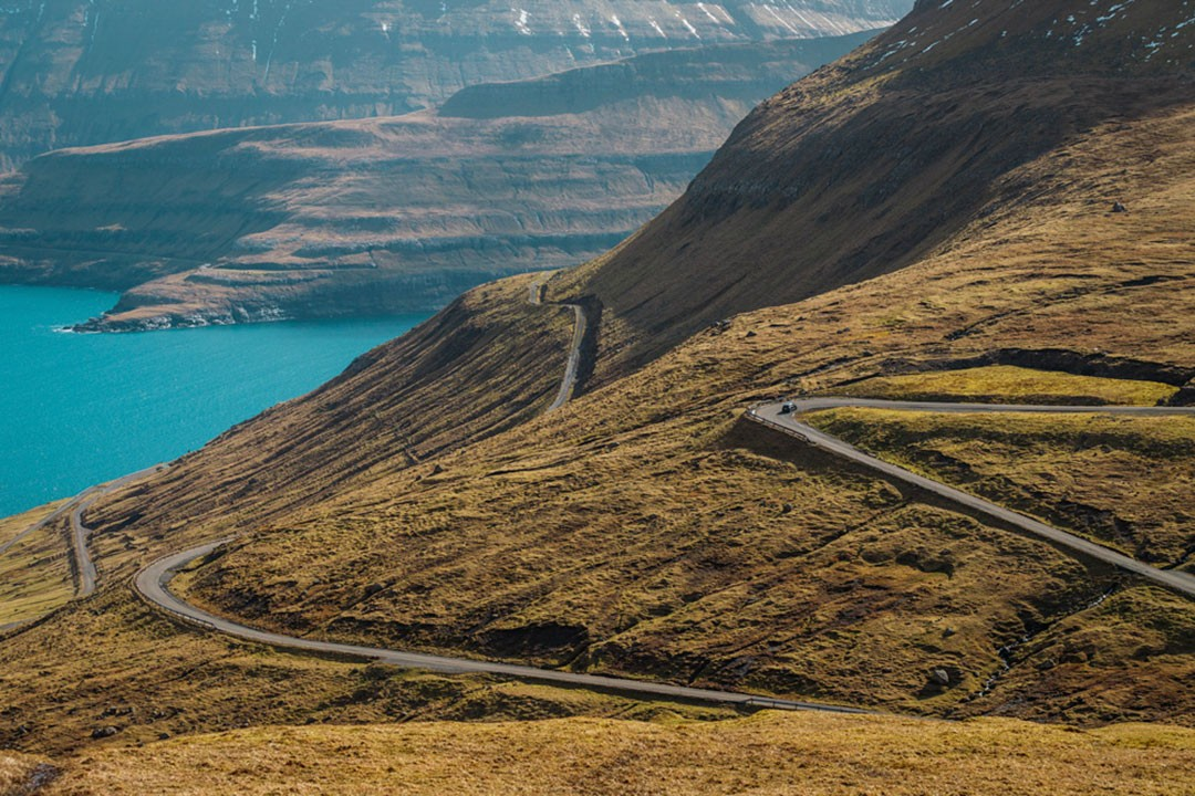 Driving in the Faroe Islands is a pleasure