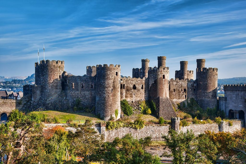 national parks in wales castle