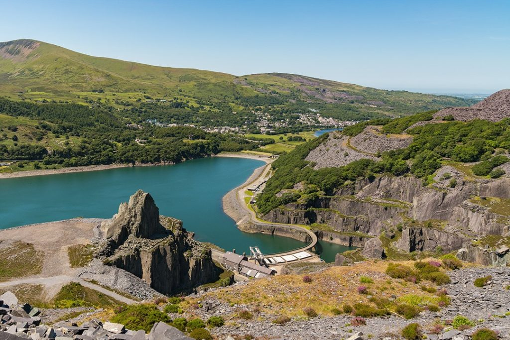 national parks in wales quarry
