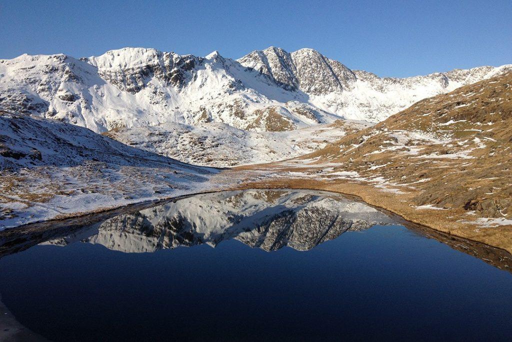 Snowdon is Britain's mightiest peak south of Scotland.