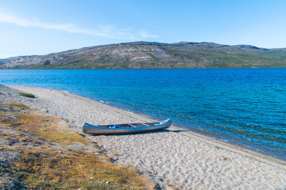 A canoe along the ACT