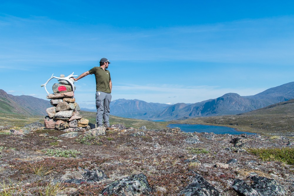 trekking the arctic circle trail between Innajuattoq and Nerumaq