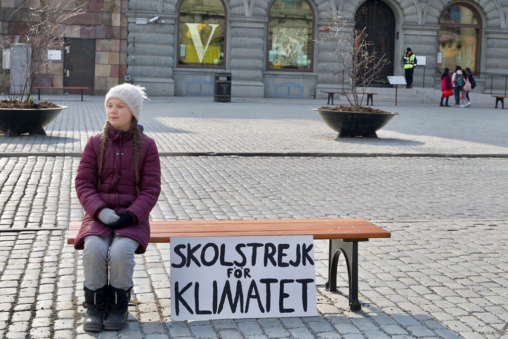 Greta Thunberg started a school strike movement that went global