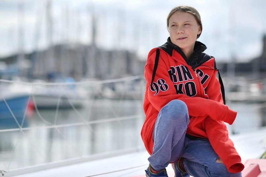Greta Thunberg is sailing across the Atlantic to attend the UN climate summit