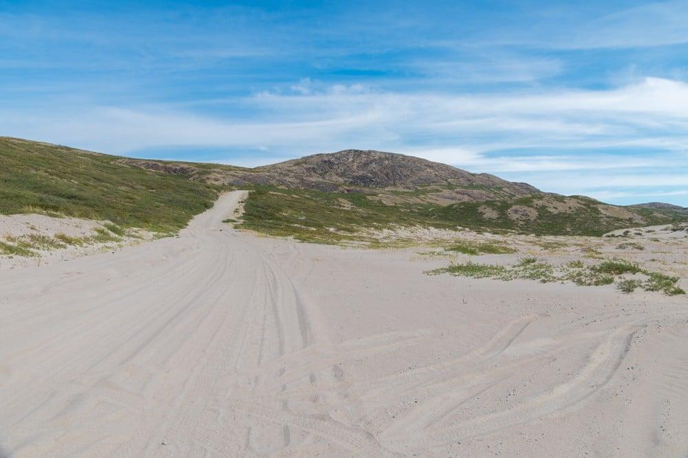 Посещение  Гренландии и ледника Рассела Посещение  Гренландии и ледника Рассела hike out 3