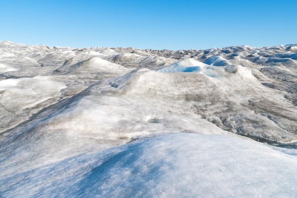 Посещение  Гренландии и ледника Рассела Посещение  Гренландии и ледника Рассела ice cap 9