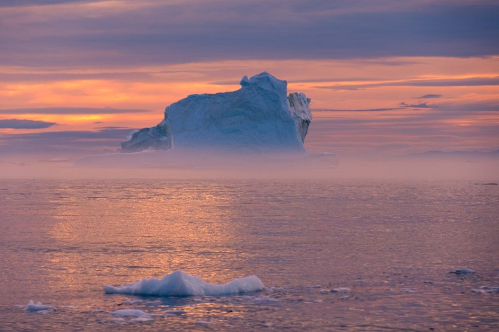 interesting facts about Greenland midnight sun