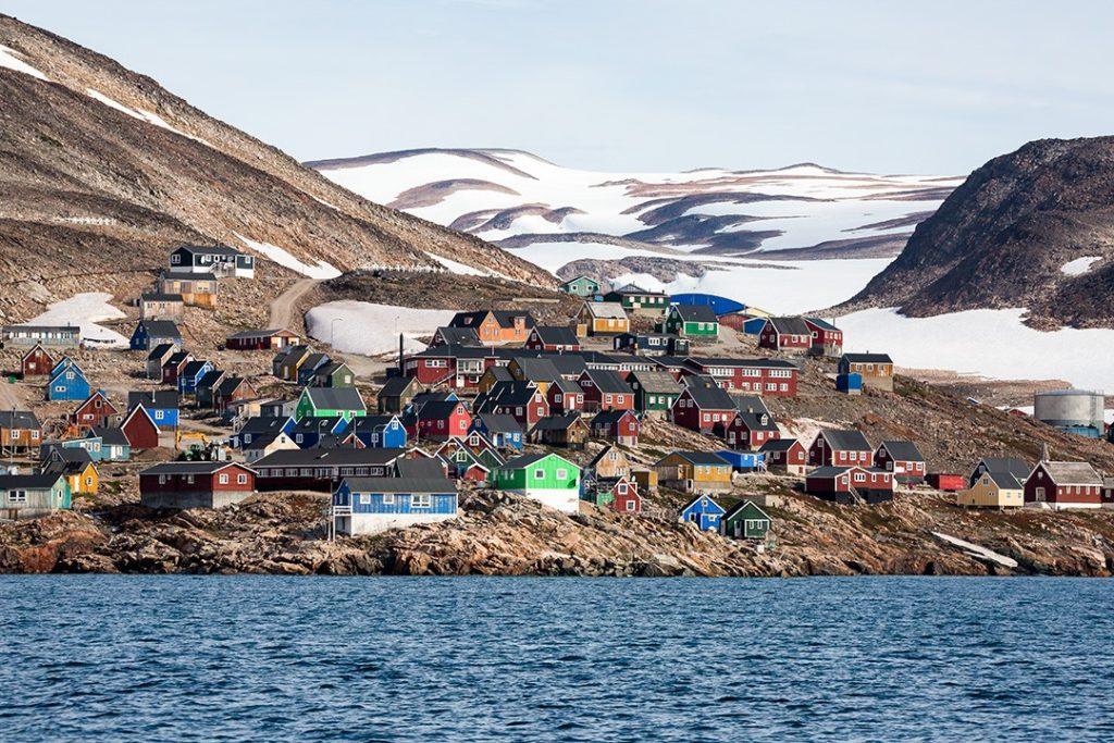 The colourful houses of Ittoqqortoormiit