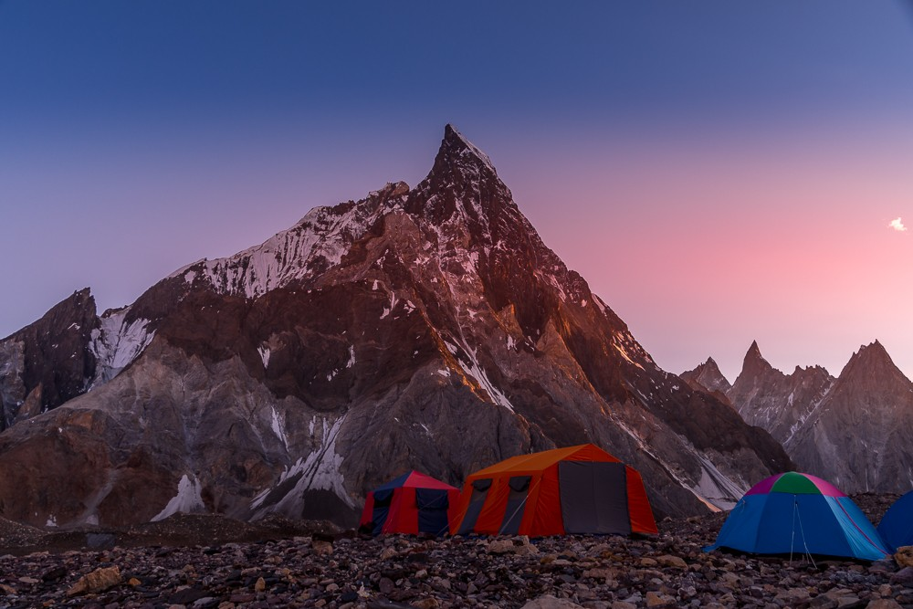 Mitre Peak K2 base camp trek