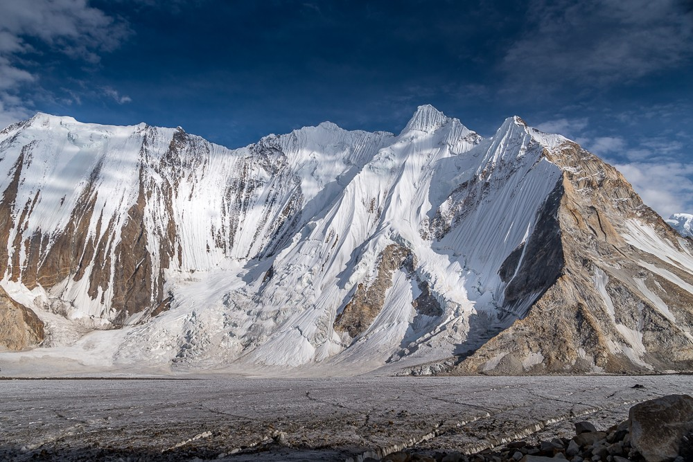 on the way to Ali Camp during the K2 base camp trek