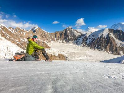 Peter on Pakistan's Gondogoro La Pass